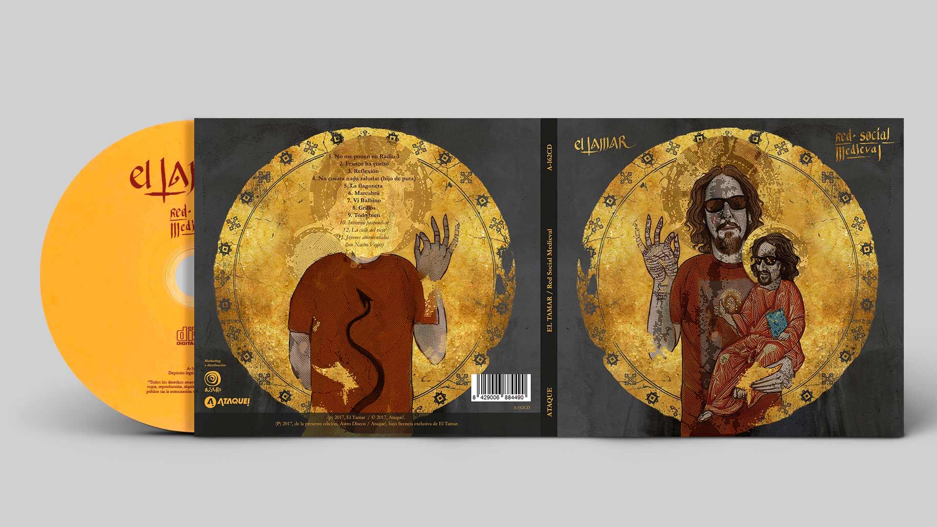 El Támar / CD artwork
