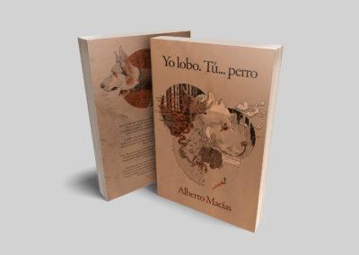 Yo lobo, tú perro / Ilustraciones y diseño