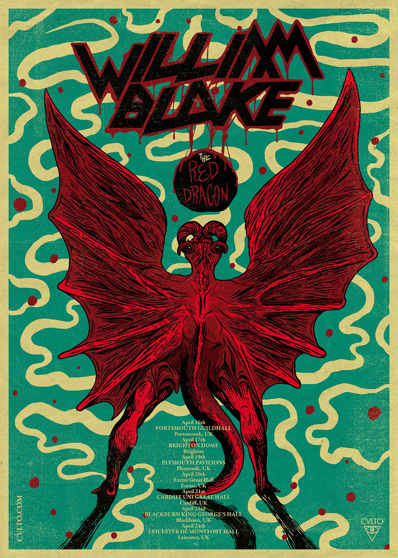 Badass Writers / Red Dragon / William Blake