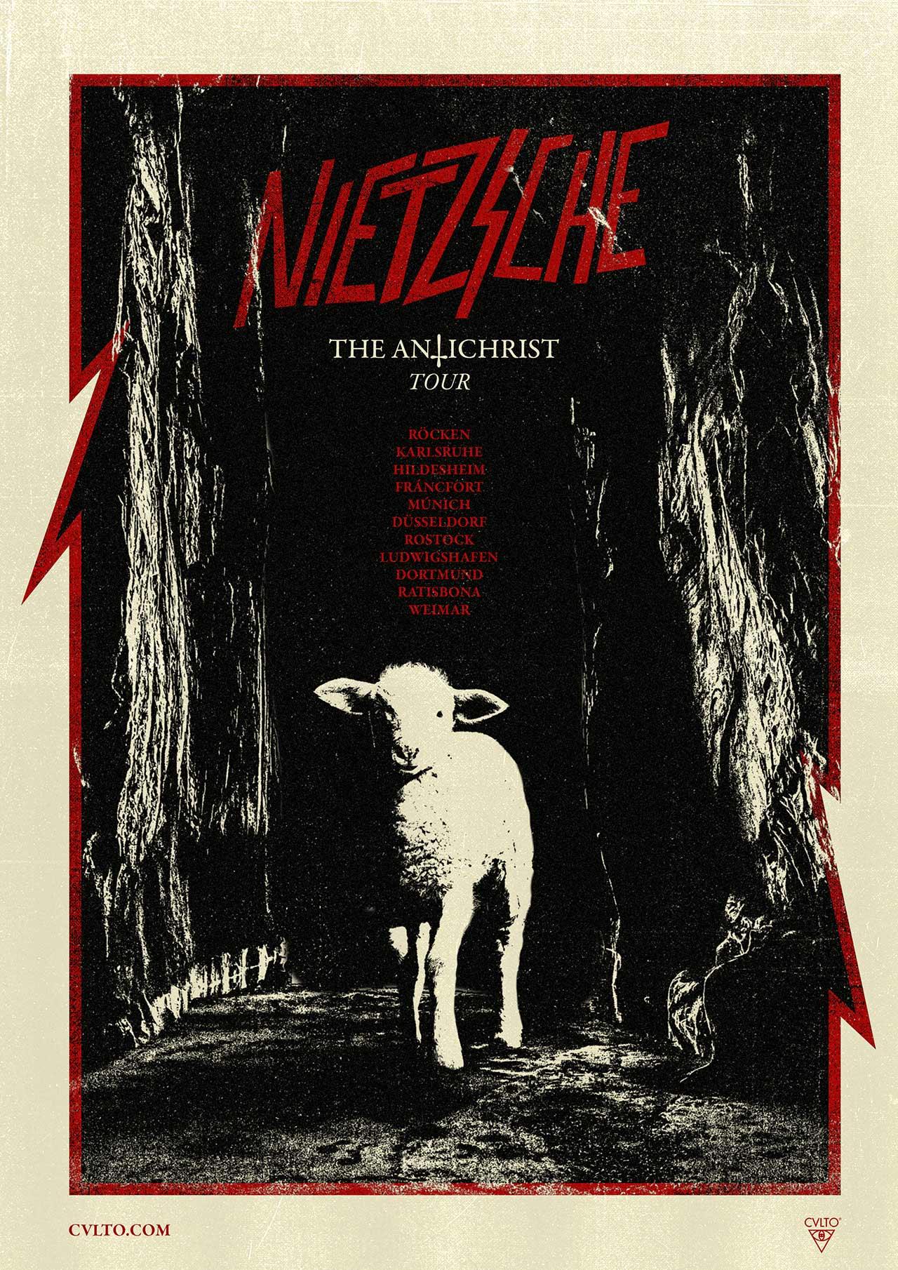 Badass Writers / The Antichrist / Friedrich Nietzsche