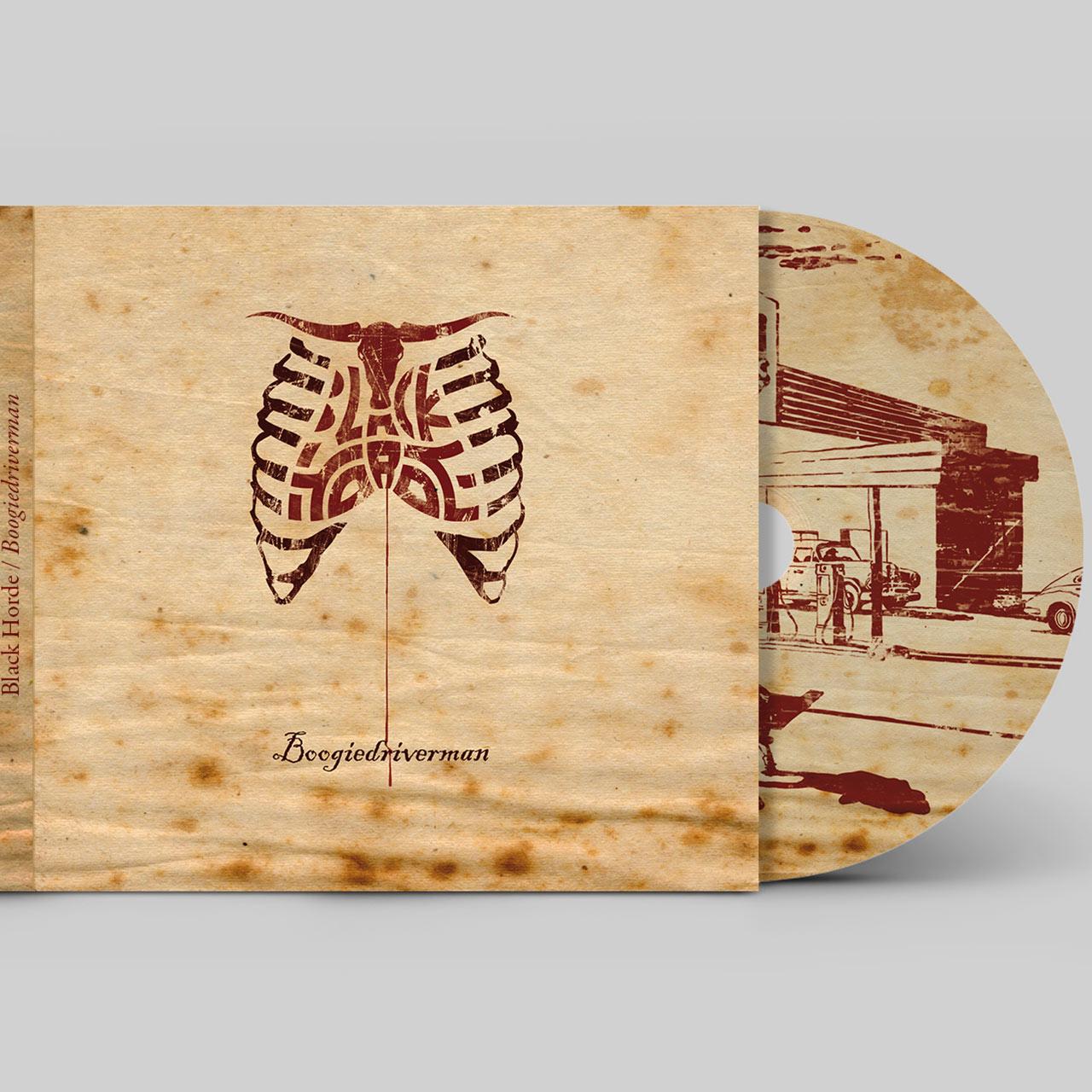 Black Horde / CD artwork